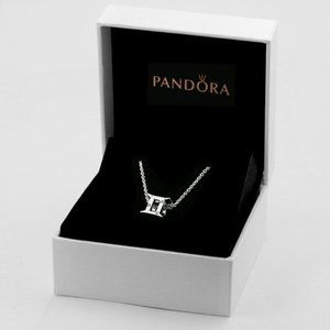 Pandora Sparkling Gemini Zodiac Necklace